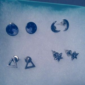 Set of 4 Earrings